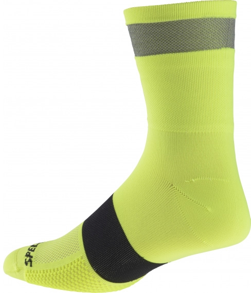 Specialized Reflect Tall Sock - neon yellow XL