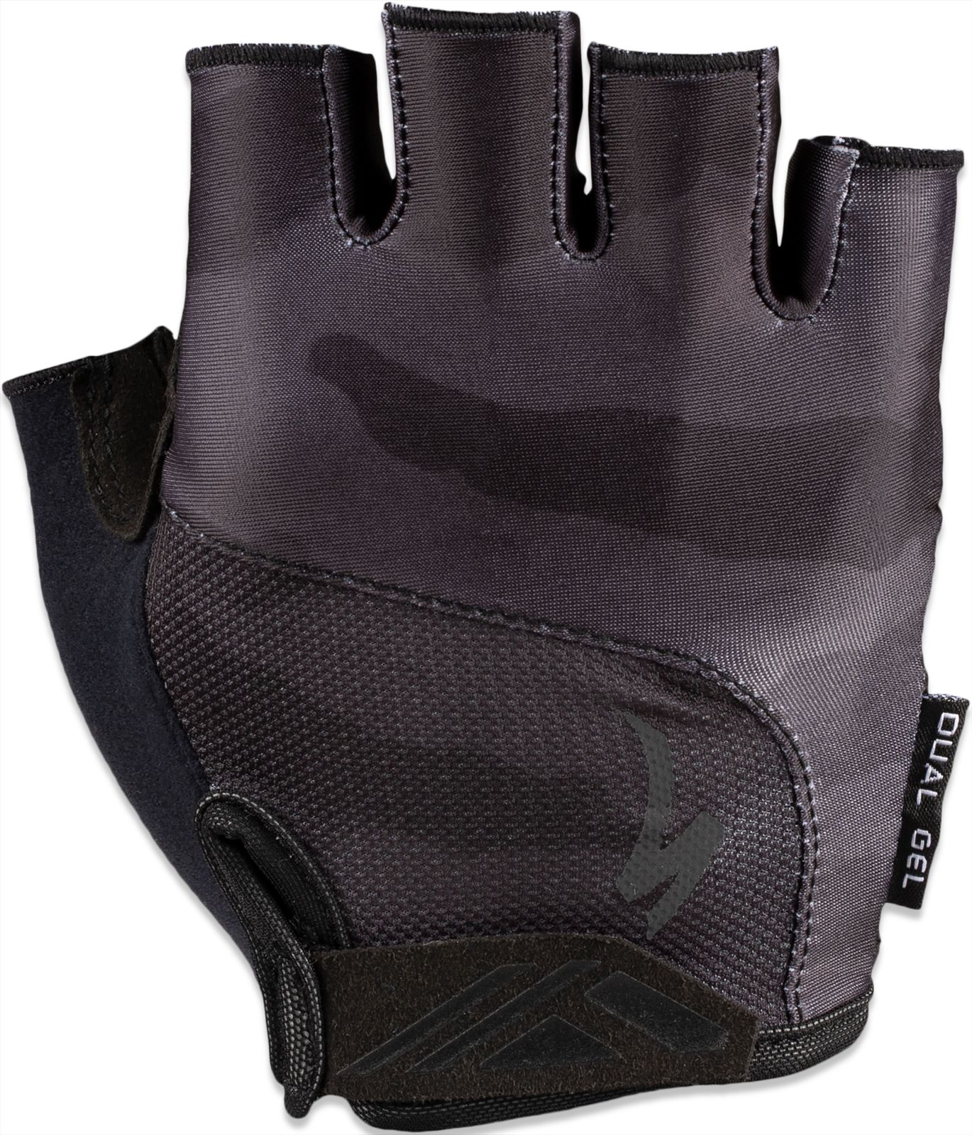 Specialized BG Dual Gel Glove SF - black/charcoal camo S