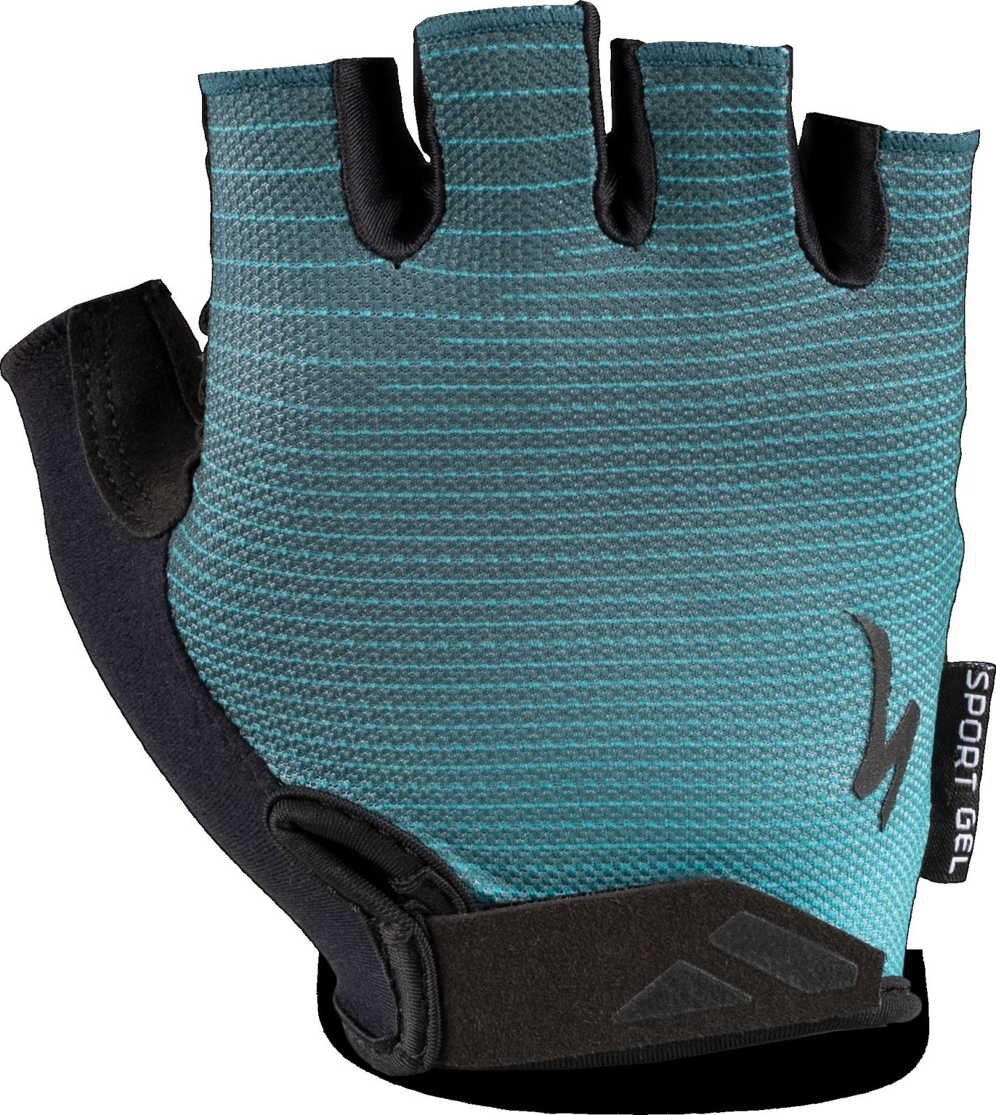 Specialized BG Sport Gel Glove SF - aqua/cast blue arrow L