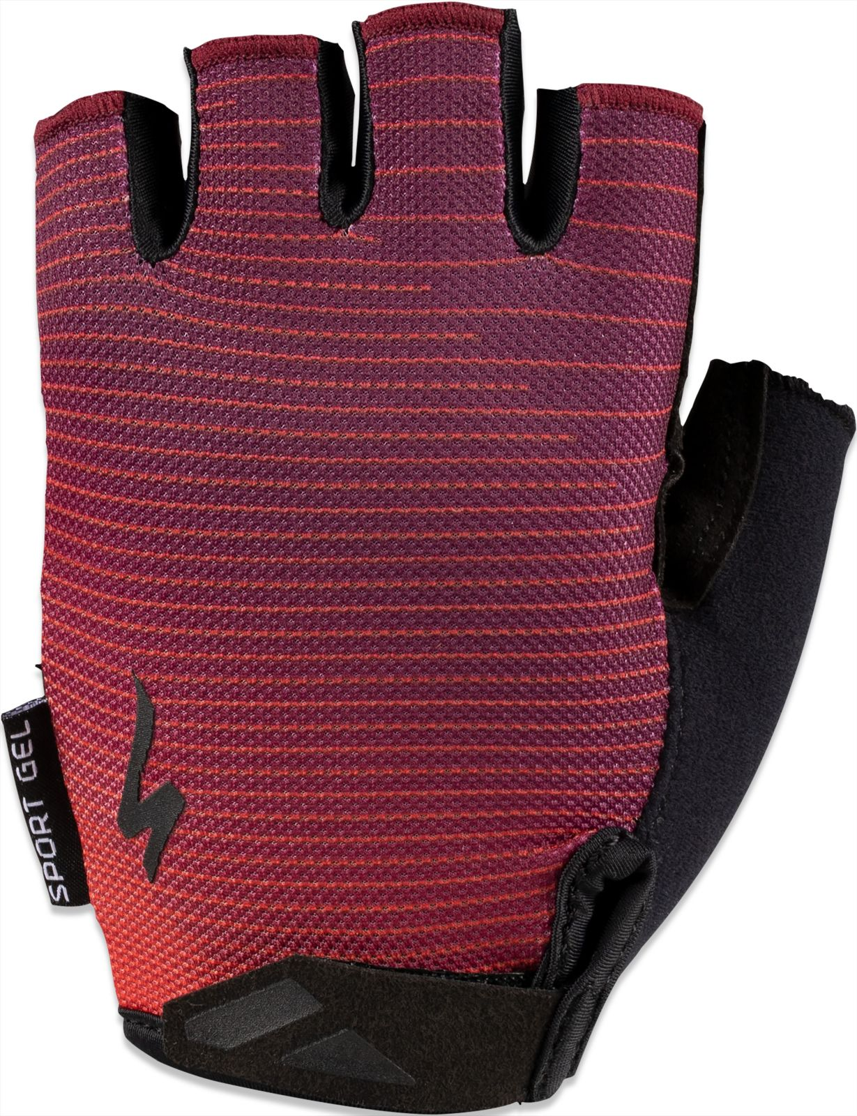 Specialized BG Sport Gel Glove SF Wmn - rocket red/cast berry arrow S