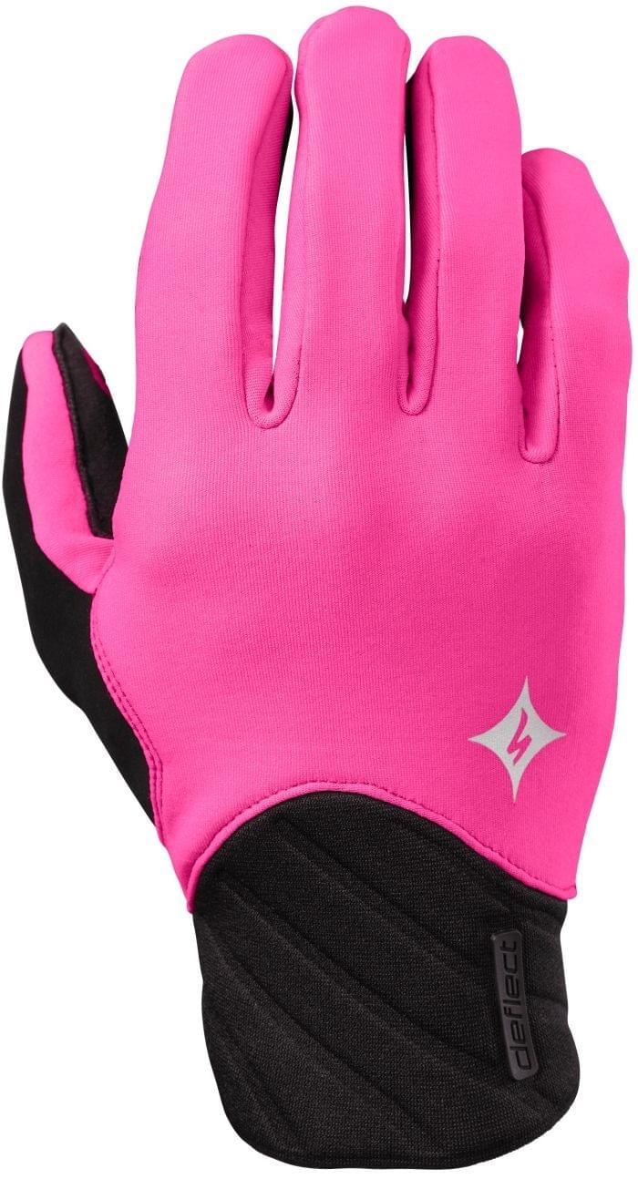 Dámské zimní cyklistické rukavice Specialized Deflect Wmn - neon pink 958a6052c6