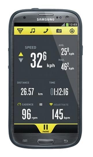Obal na telefon Topeak RideCase Samsung Galaxy S4 - black uni