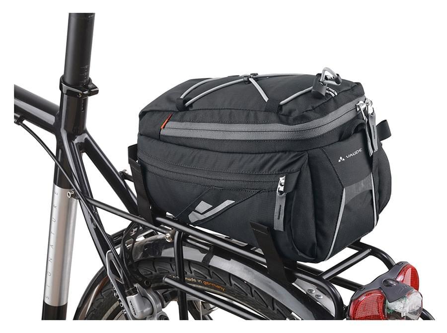 Cyklistická brašna na nosič Vaude Silkroad M - black uni