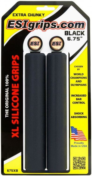 "ESI Grips XL 6.75"" Extra Chunky - black uni"