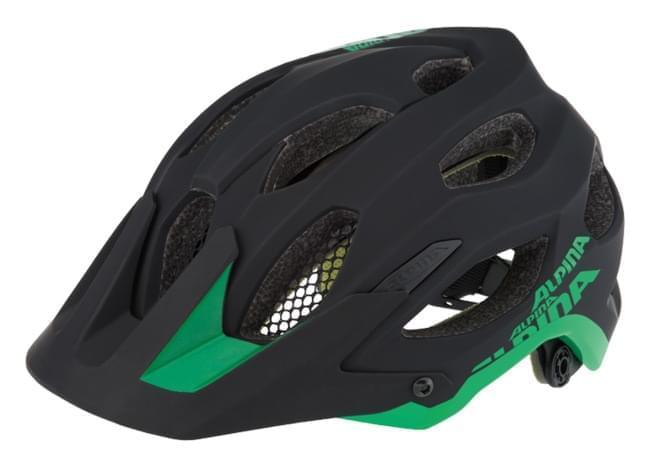 Alpina Carapax - black-green 57-62