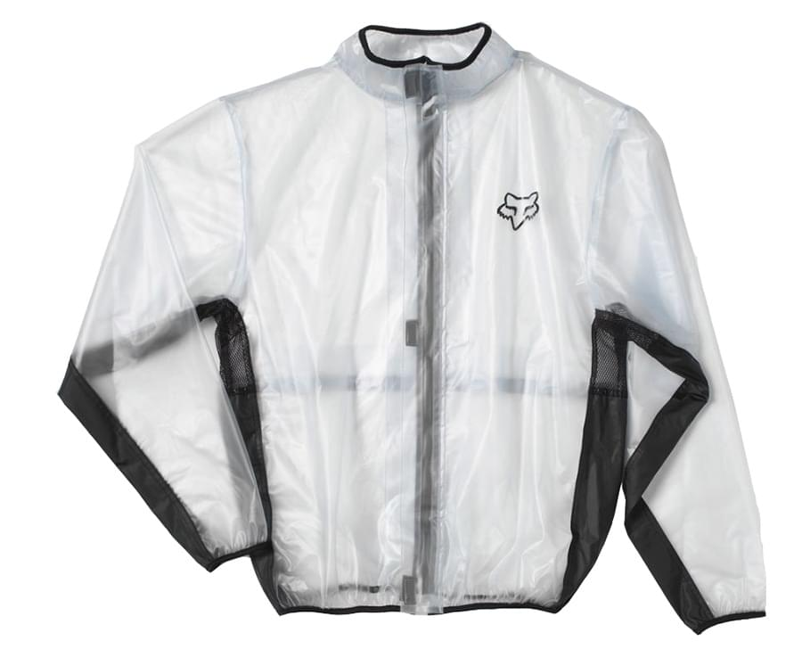 FOX MX Fluid Jacket - Clear S