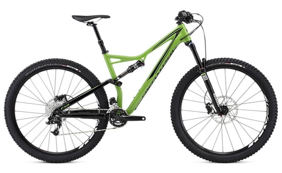 Horské kolo Specialized Stumpjumper FSR Comp 29 - moto green/black M