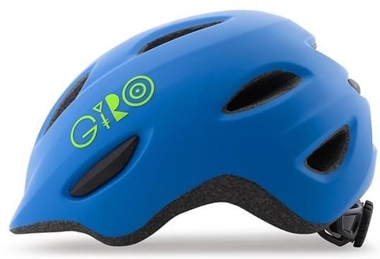 Giro Scamp Mat Blue/Lime XS