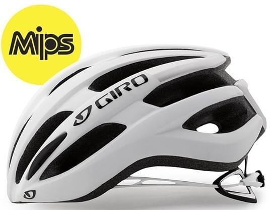 Giro Foray MIPS Mat White/Silver L