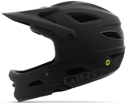 Giro Switchblade MIPS Mat Black/Glos Black M