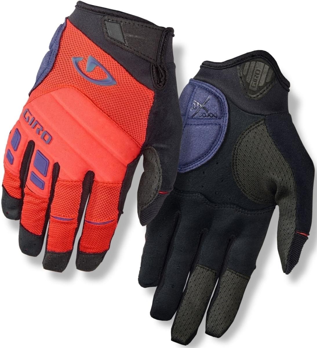 Dlouhé cyklistické rukavice Giro Xen Vermillion Ultraviolet - Ski a ... 879b438746