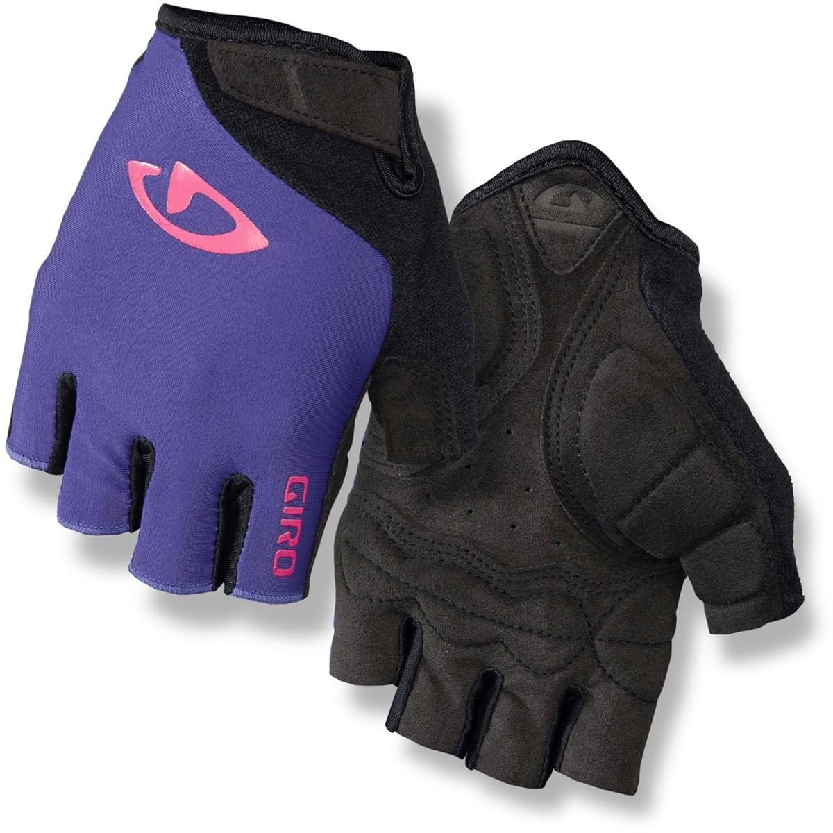 06949c4bd Dámské cyklistické rukavice Giro Jag'Ette - ultraviolet/bright pink ...