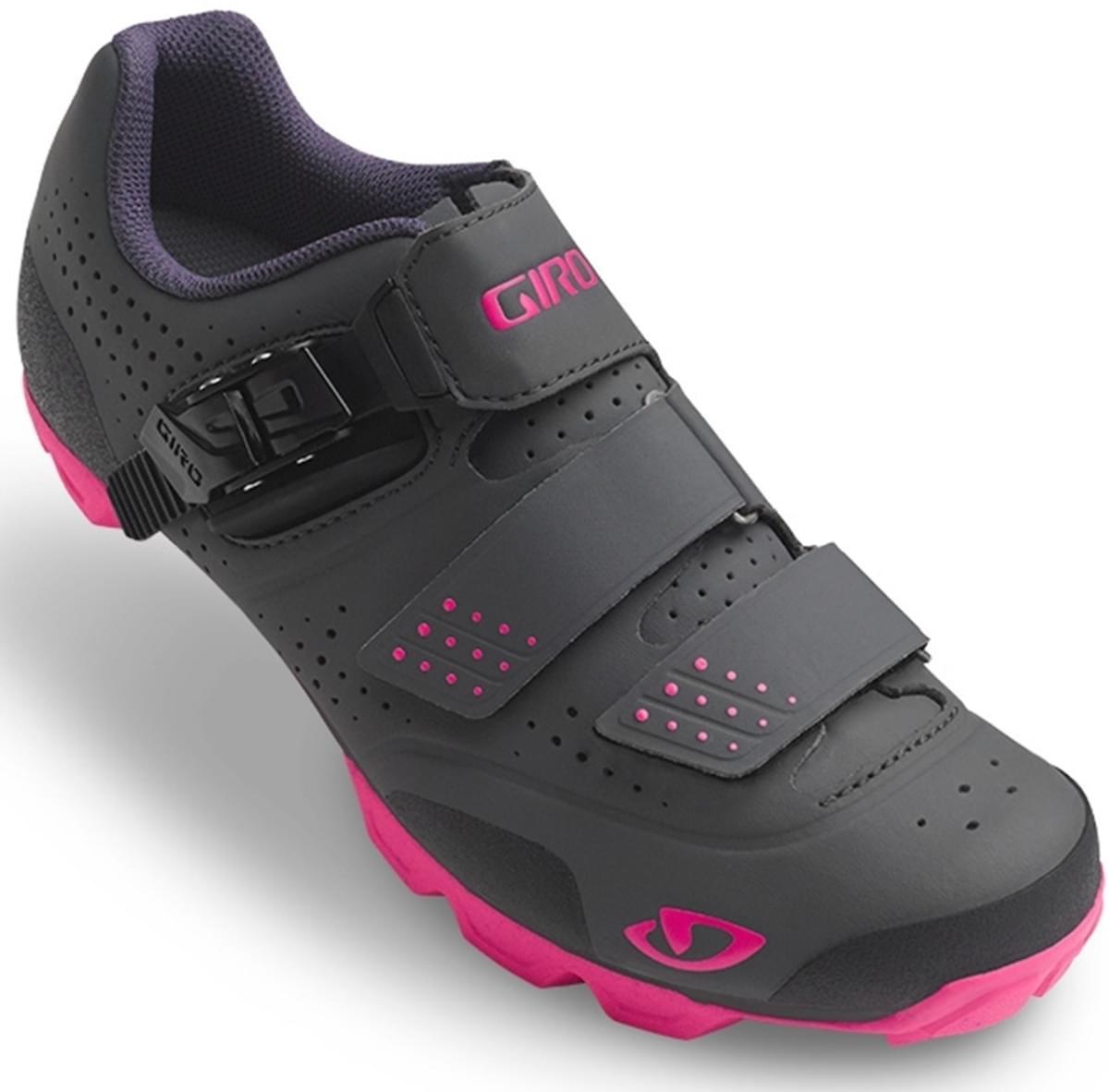 2bd96b38b59 Dámské cyklistické tretry Giro Manta R Dark Shadow Bright Pink
