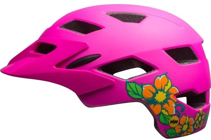 Bell Sidetrack Youth MIPS Mat Pink Blossom uni