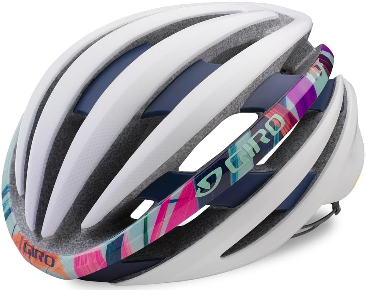 Dámská cyklistická přilba Giro Ember MIPS Mat White Floral - Ski a ... e1a8d13d524
