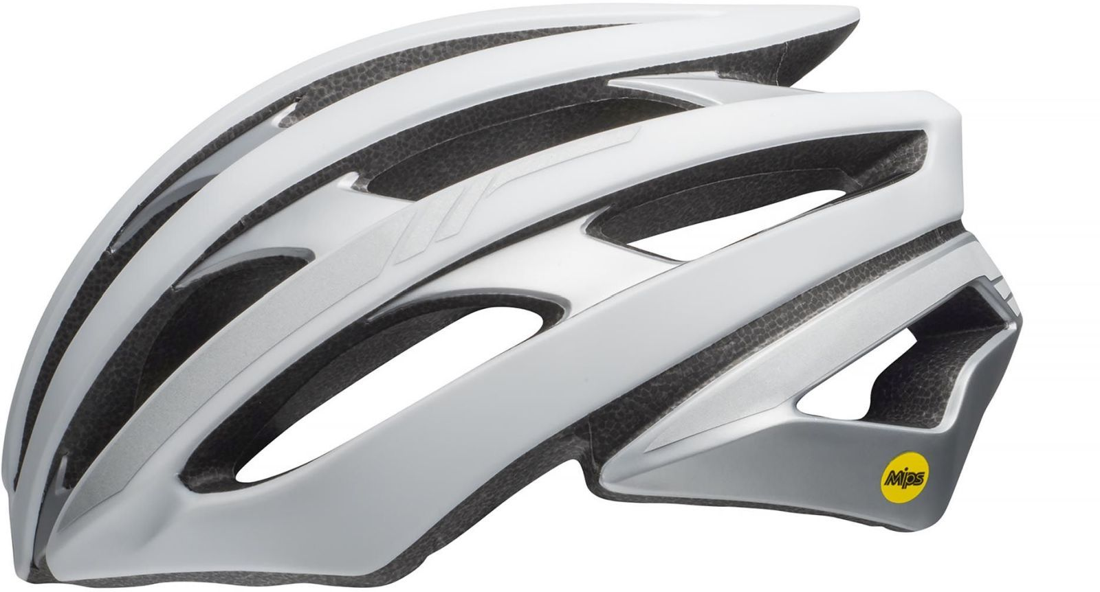 Bell Stratus MIPS - mat white/silver reflective L-(58-62)