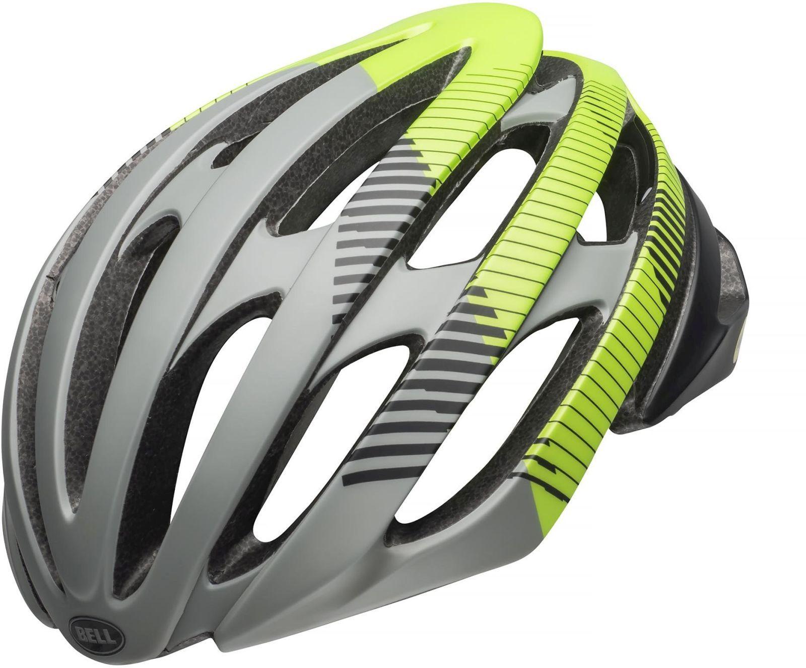 Cyklistická helma Bell Stratus - mat gray black green - Ski a Bike ... 6bcf737584b