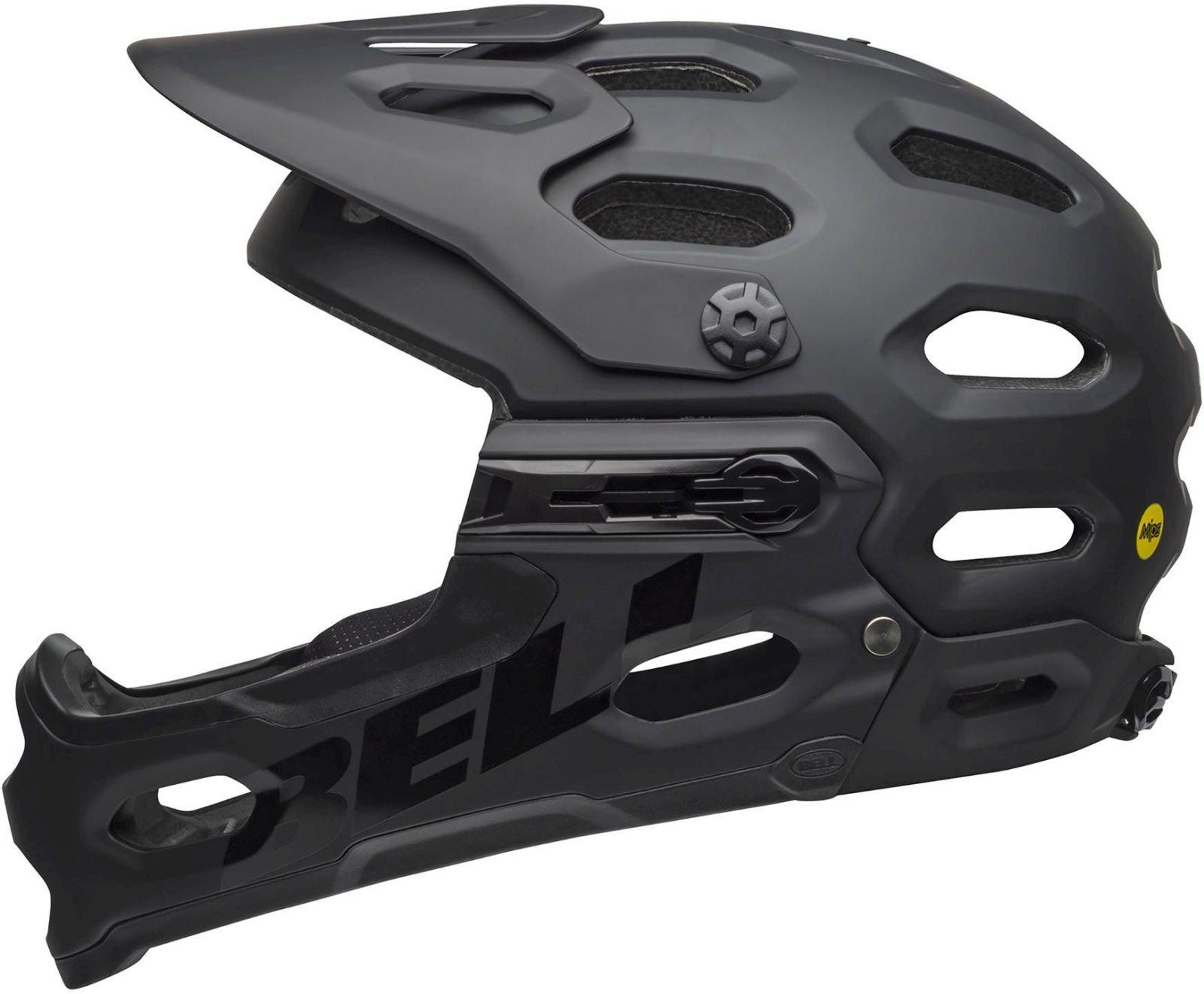 Bell Super 3R MIPS - mat black M-(55-59)