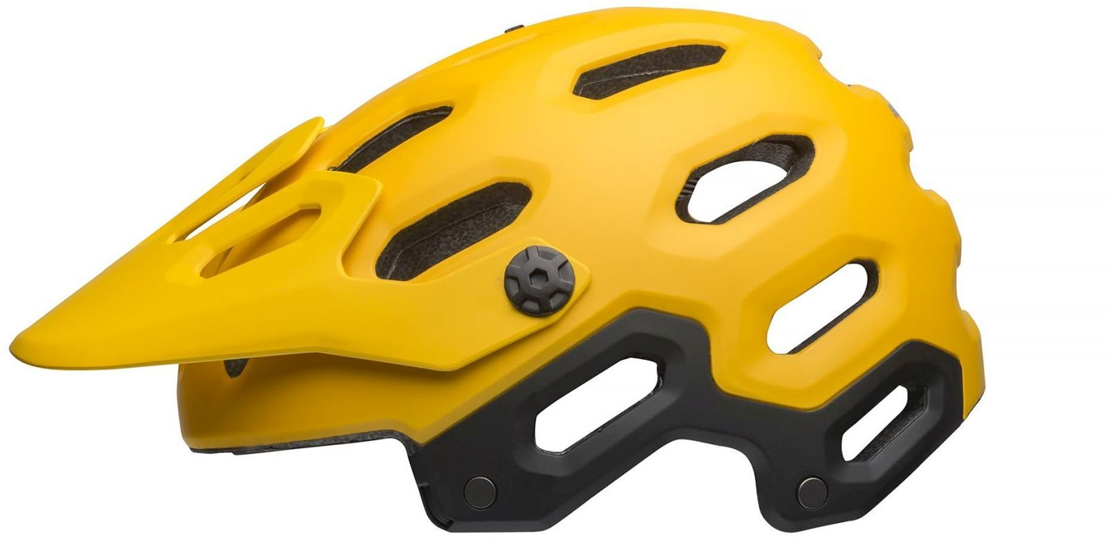 Bell Super 3 - mat yellow/coal M-(55-59)
