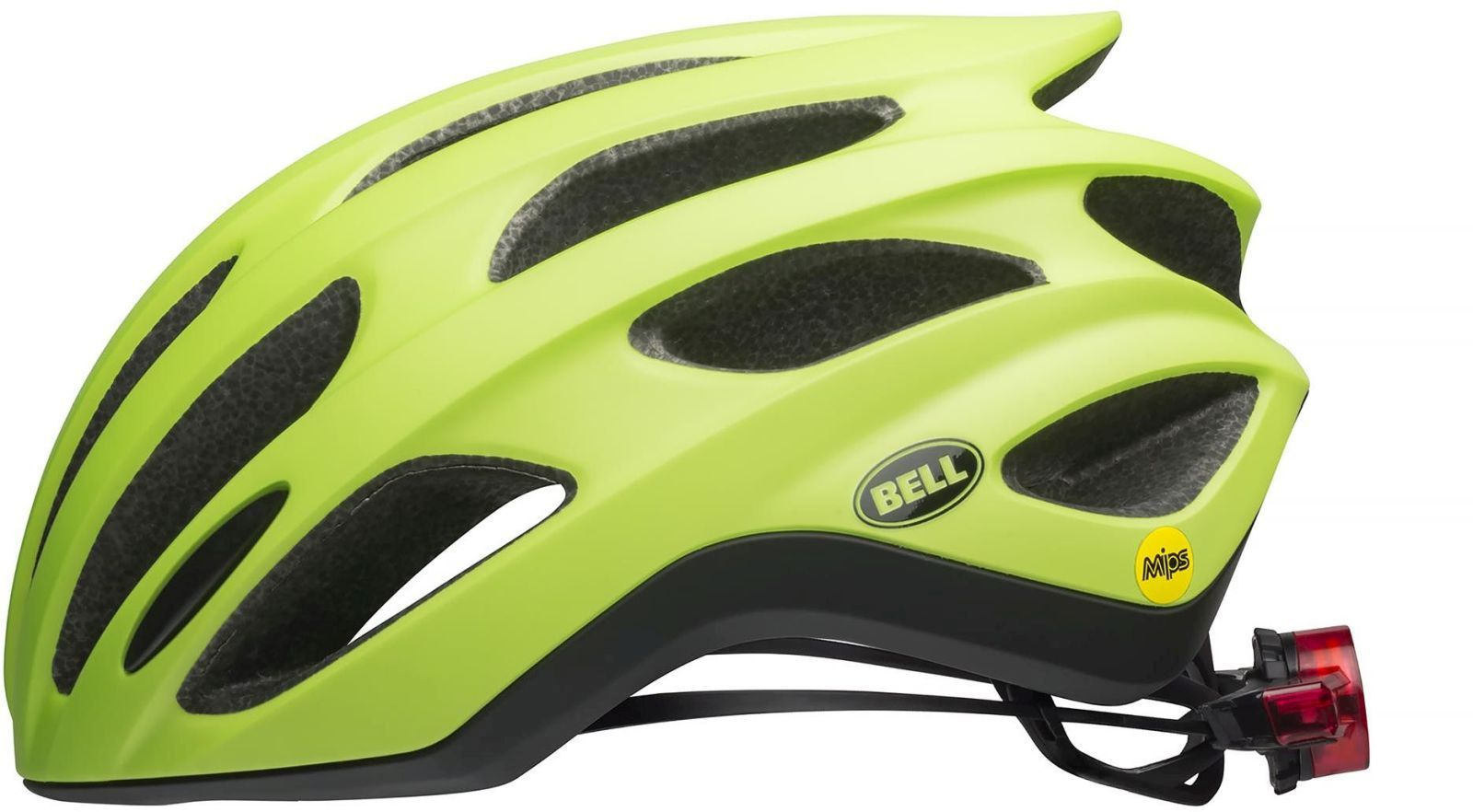 Bell Formula LED MIPS - mat green/black M-(55-59)