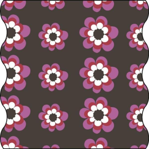 13fb4befb33 Dětský šátek Lässig Twister - flowers pink choco - Ski a Bike ...