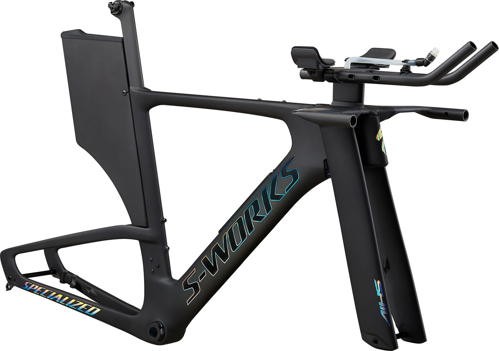 Specialized S-Works Shiv Disc Module - satin carbon/gloss holographic foil XS