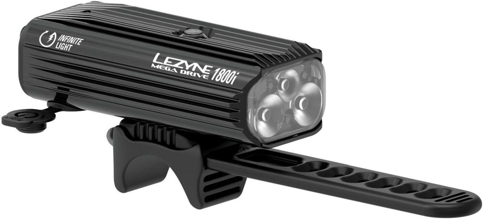 E-shop Lezyne Mega Drive 1800i Loaded Pro Black/Hi Gloss uni