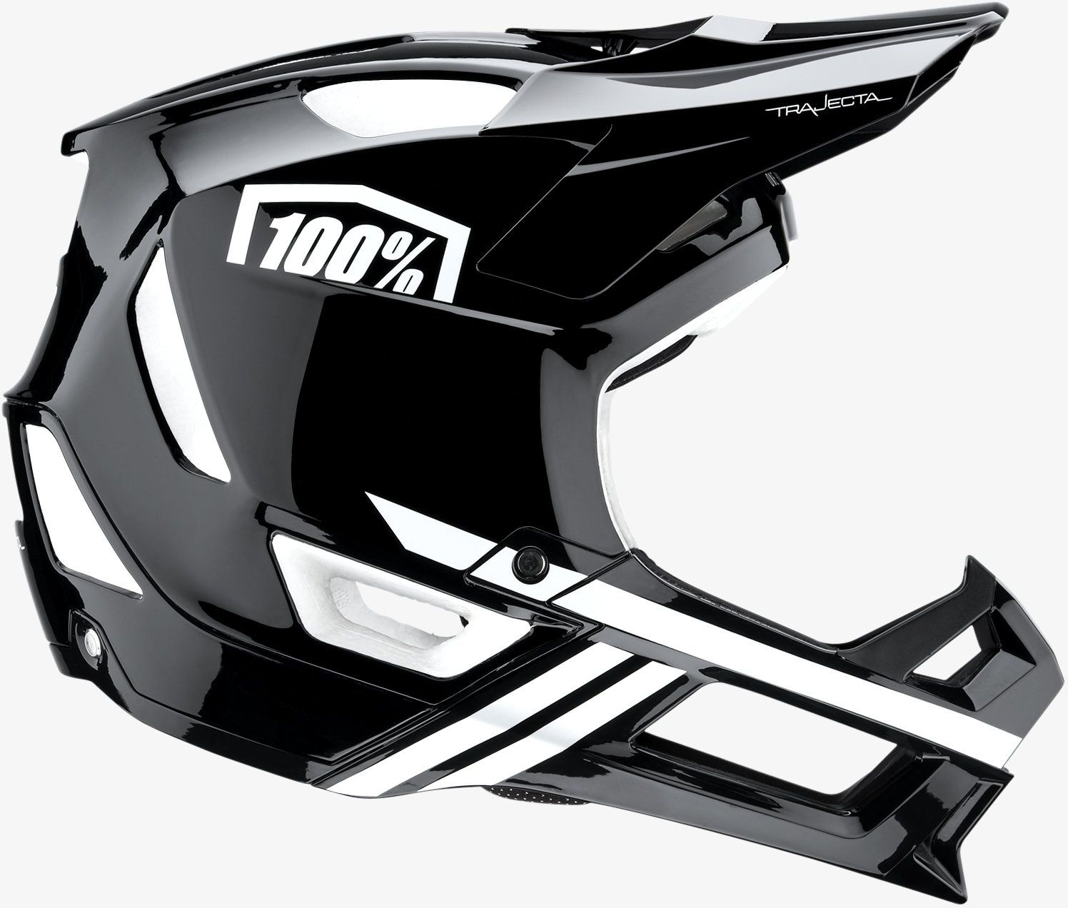 100% Trajecta - Black/White 58-61