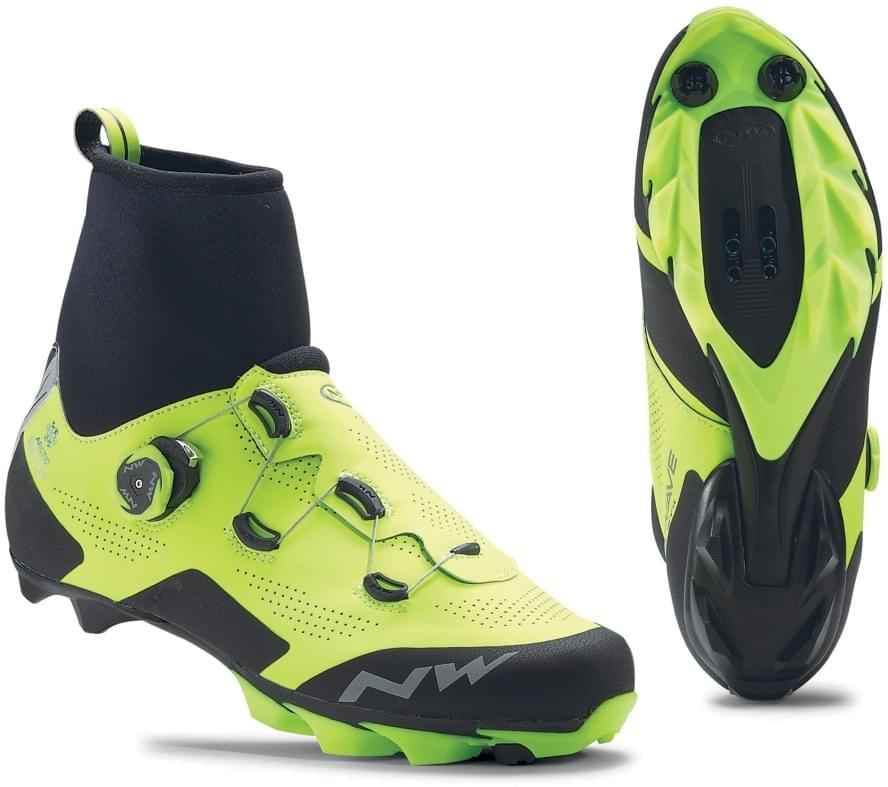 Northwave Raptor Arctic Gtx - yellow fluo/black 42