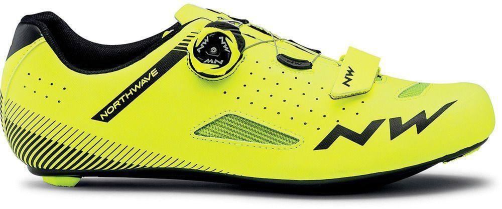Northwave Core Plus - Yellow Fluo 44