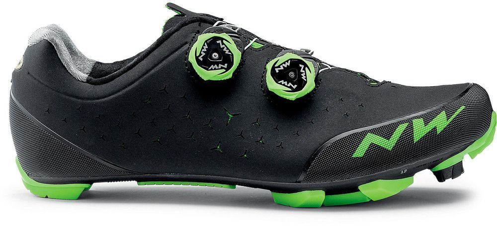 Northwave Rebel 2 - Black/Green 44