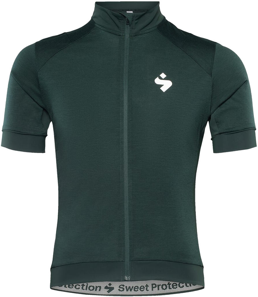 Sweet Protection Crossfire Merino SS Jersey M - forest green M