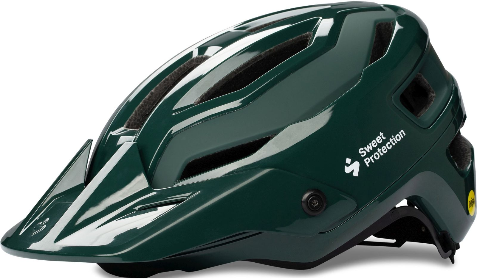 Sweet Protection Trailblazer MIPS Helmet - gloss forest green 56-59