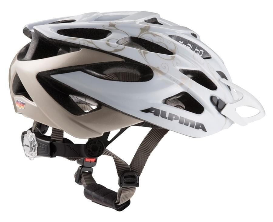 Dámská cyklistická přilba Alpina D-Alto - white prosecco - Ski a ... 1c9240d7e31