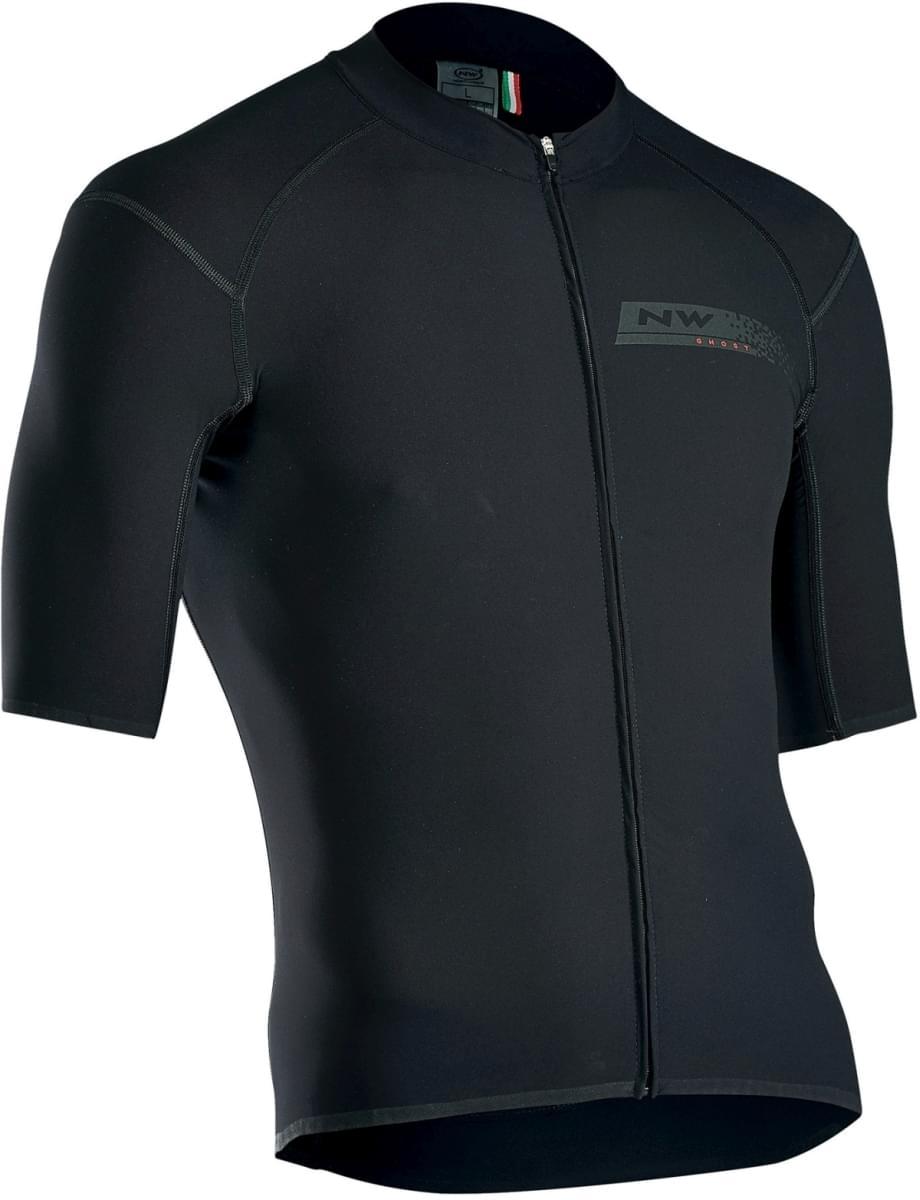 Cyklistický dres Northwave Ghost Jersey Short Sleeves Pro - Black ... 34a51f67cd