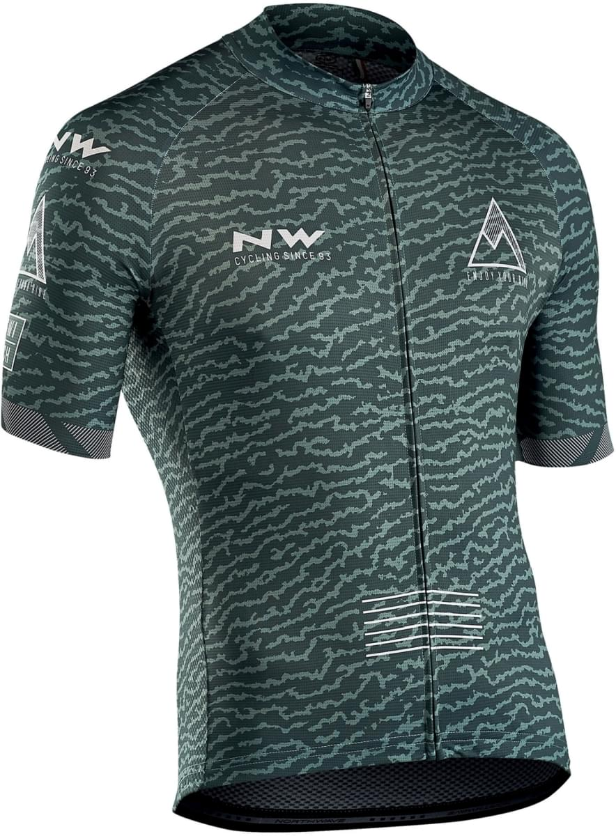 Northwave Rough Jersey Short Sleeves - Green Forest L