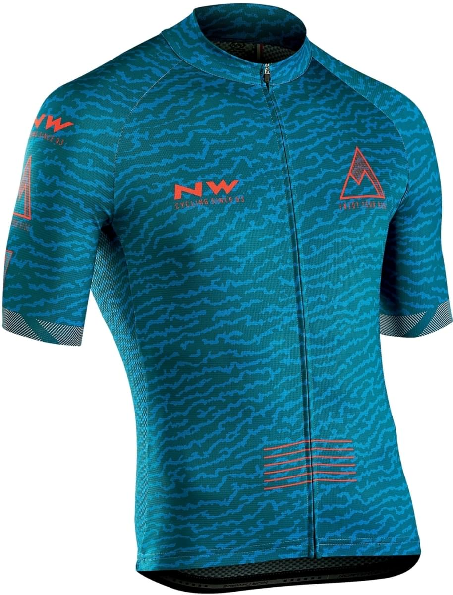 Northwave Rough Jersey Short Sleeves - Petroleum L
