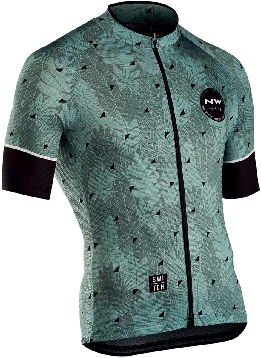 Northwave Floreal Jersey Short Sleeves - Green Forest M