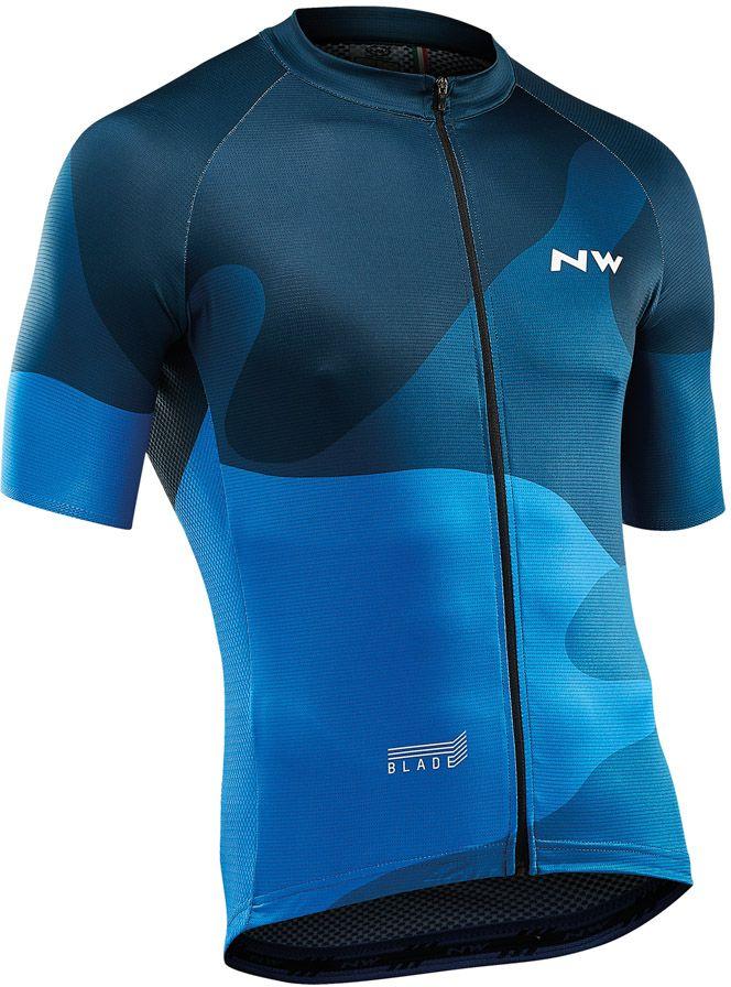 Northwave Blade4Jersey Short Sleeves - blue M