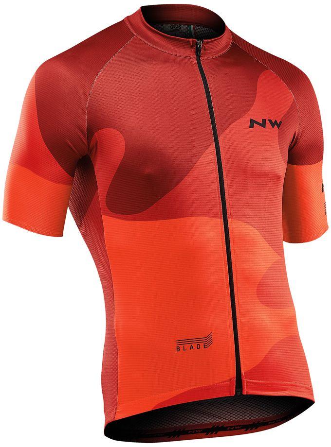 Northwave Blade4Jersey Short Sleeves - orange XL