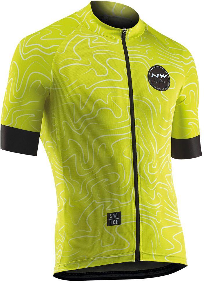 Northwave Lemonade Jersey Short Sleeves - lemon XXL