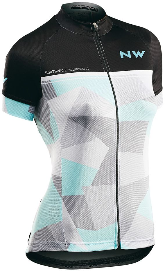 f37369002c Dámský cyklistický dres Northwave Origin Wmn Jersey Short Sleeves -  black lightgrey
