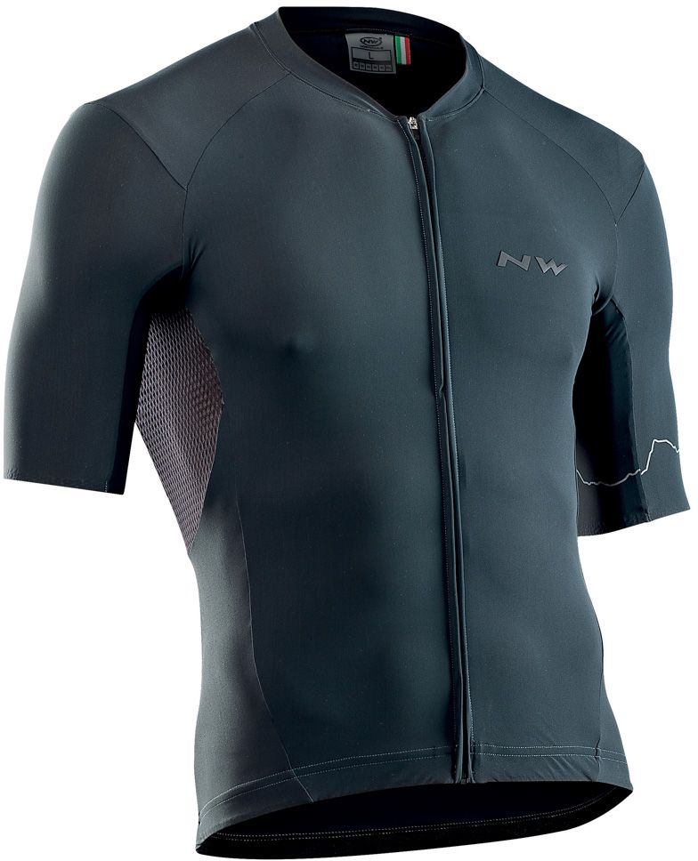 Northwave Extreme 4 Jersey Short Sleeves - Graphite L