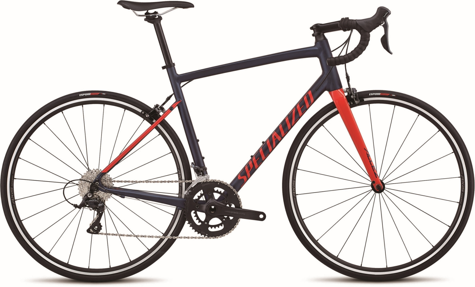 Specialized Allez Sport - navy/nordic red 58