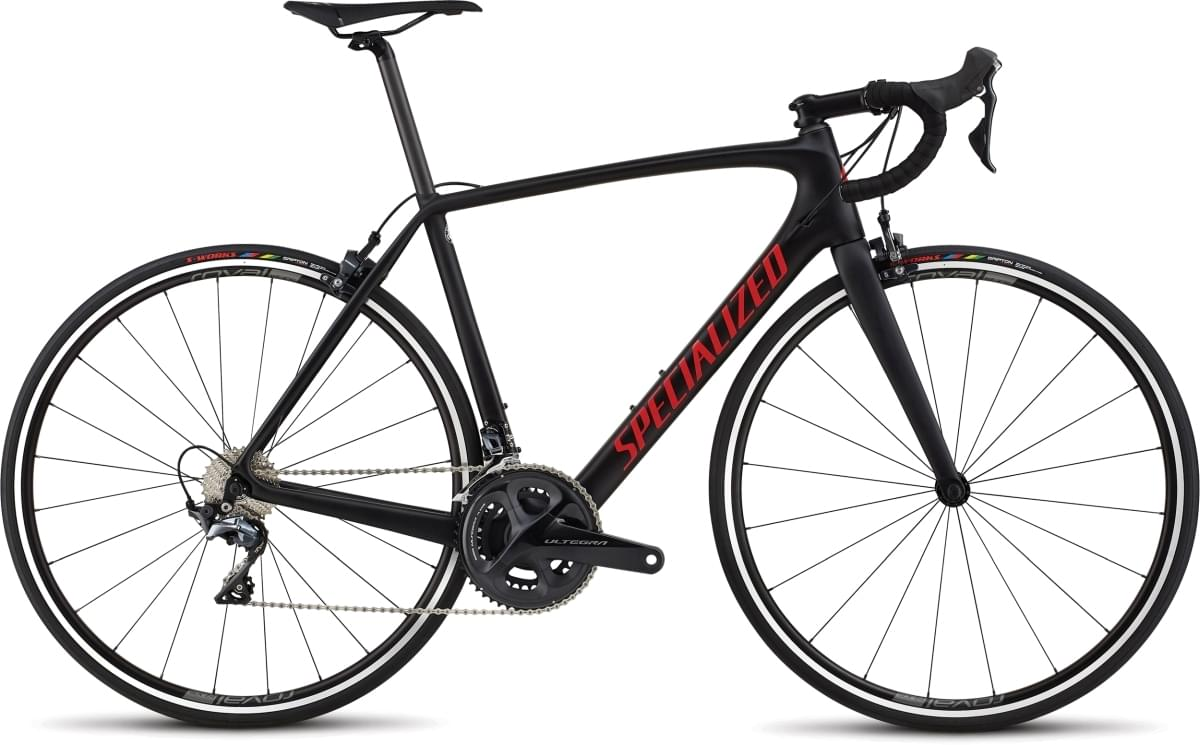 Specialized Tarmac Comp - Black/Gloss Flo Red/Clean 56