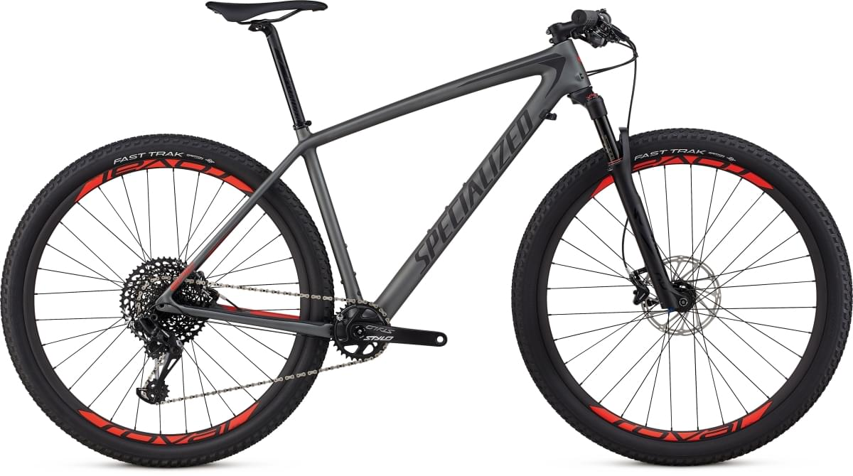 Specialized Epic HT Expert Carbon 29 - charcoal/black/rocket red M