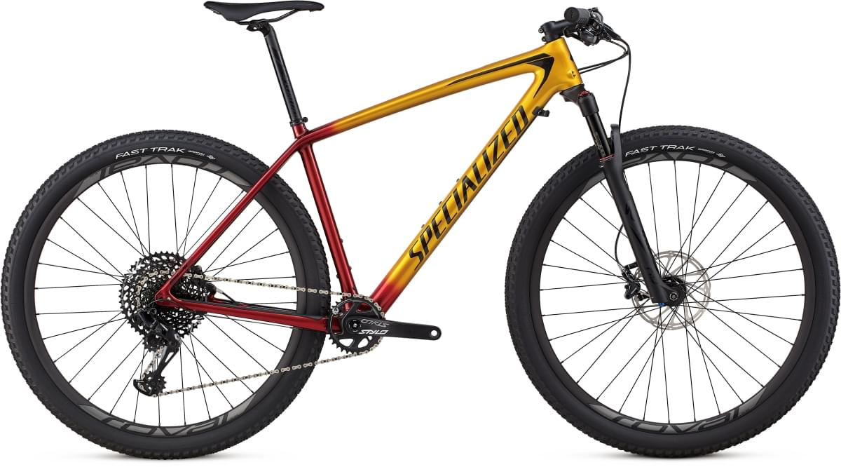 Specialized Epic HT Expert Carbon 29 - gold/candy red/cosmic black XL