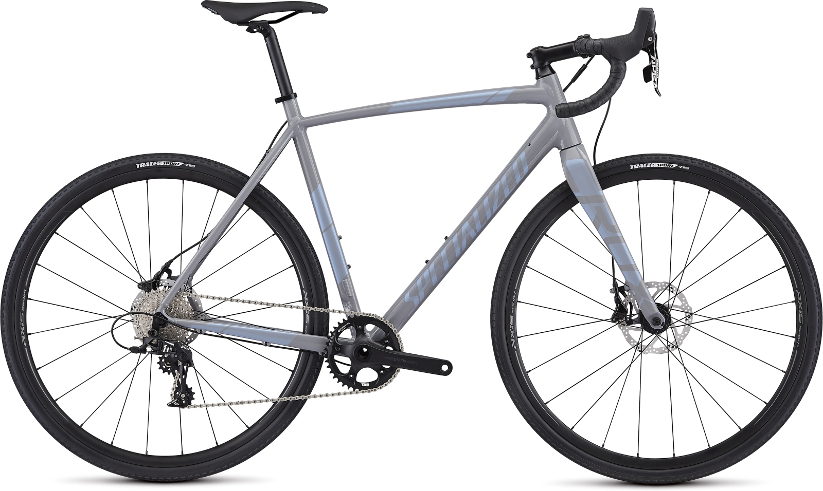 Specialized Crux E5 Sport - cool gray/blue ghost pearl 58