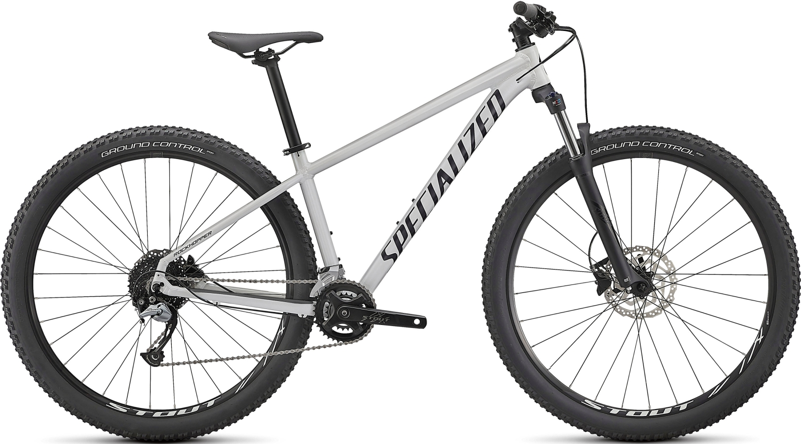 Specialized Roockhopper Comp 2X 29 - Gloss Metallic White Silver/Satin Black XL