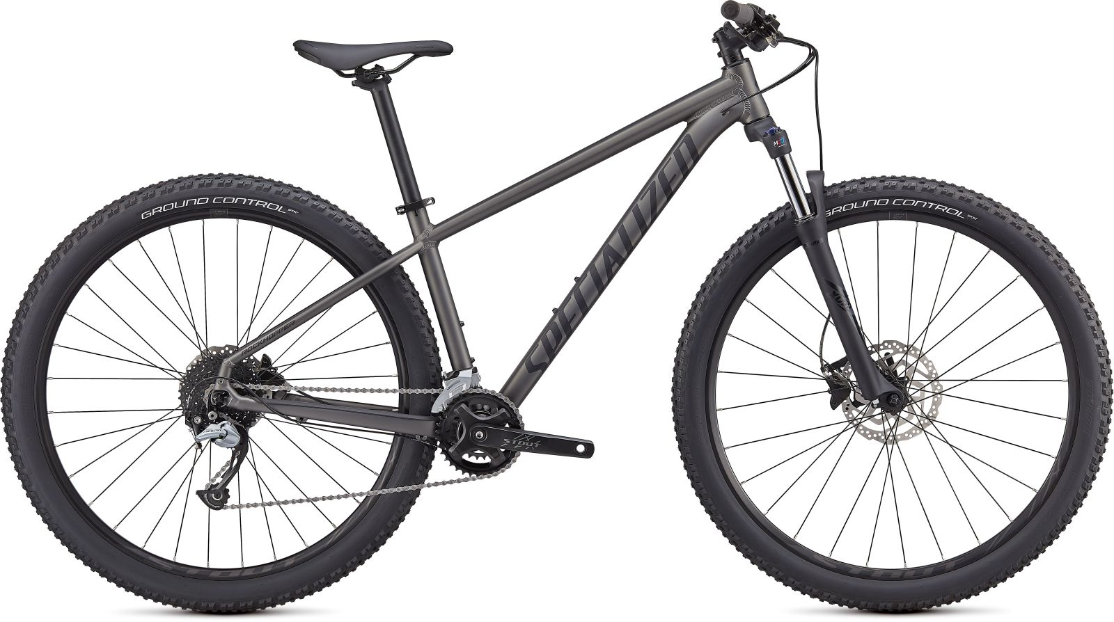 Specialized Roockhopper Comp 2X 29 - Satin Smoke/Satin Black XL